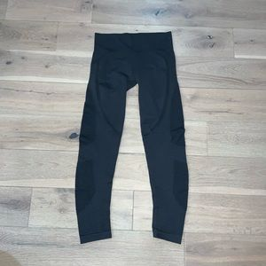 Zyia active compression Gray leggings size large